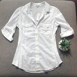 NWT James Perse Button-Up Shirt